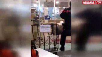 Pala ile Restorana Giren Yabancı Uyruklu Saldırganın Yeni Görüntüleri Ortaya Çıktı
