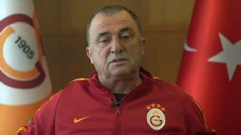 Galatasaray Teknik Direktörü Fatih Terim, Yardımcı Antrenör Levent Şahin, kaptan Selçuk İnan, Fernan