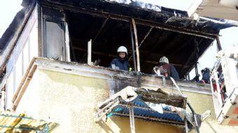 Beyoğlu'nda bir evde çıkan yangında 3 çocuk hayatını kaybetti.