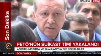 Cumhurbaşkanı Erdoğan: Almanya'daki soydaşlarıma sesleniyorum bunları desteklemeyin, yeşiller ve Mer