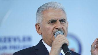Kahramankazan'da toplu açılış töreninde konuşma yapan Başbakan Binali Yıldırım, Kahramankazan-Esenbo