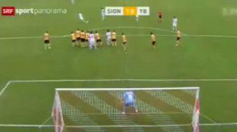 �svi�re S�per Ligi'nde Sion ve Grasshoppers aras�nda oynanan ma�� Sion 4-2 kazand�. Eski Fenerbah�el