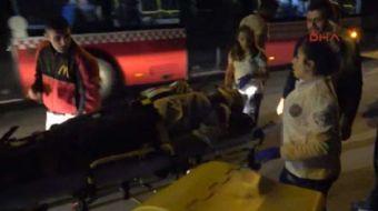 Antalya'da yolun kar��s�na ge�ti�i s�rada motosikletin �arpt��� 72 ya��ndaki Mehmet Tamer, yaraland�
