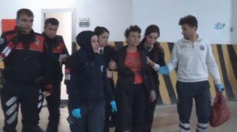 Konya'da kendisini aldattığını iddia eden kocasını üç yerinden bıçaklayan bir kadın, olay yerine gel