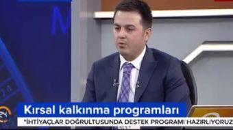 Tarım ve Kırsal Kalkınmayı Destekleme Kurumu Başkanı Antalyalı: 2011-2016 yıllarında yaptırmış olduğ