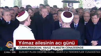 Mesut Yılmaz'ın oğlu Yavuz Yılmaz'ın cenaze törenine Cumhurbaşkanı Recep Tayyip Erdoğan'da katıldı