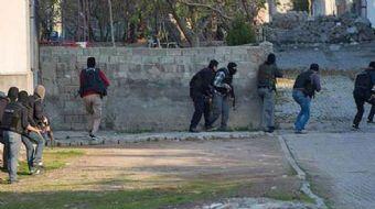 Tunceli'de 8 teröristin etkisiz hale getirildiği operasyonda, sığınağın bölgede 'Karargah' şeklinde