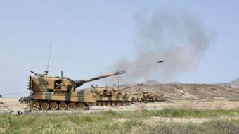 Türk Silahlı Kuvvetlerince, Suriye'nin kuzeyindeki terör hedeflerine yönelik devam eden Fırat Kalkan