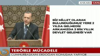 Cumhurbaşkanı Recep Tayyip Erdoğan 35. Muhtarlar Toplantısı'nda konuştu. Cumhurbaşkanı Erdoğan açıkl