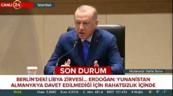 Başkan Erdoğan'dan Yunanistan'ı Uyardı