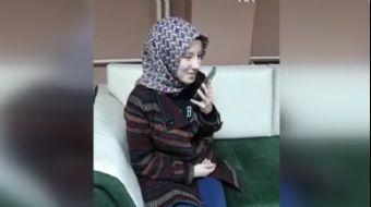 TBMM Başkanı Şentop'tan görme engelli Esra Kansoy'a tebrik telefonu