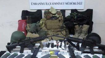 FETÖ üyesi olduğu gerekçesiyle tutuklanan eski SAT komandosunun evinin bodrumunda silah ve mühimmat