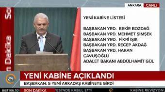 Cumhurbaşkanı Recep Tayyip Erdoğan, Başbakan Binali Yıldırım ile görüştü. Görüşme sonrası Başbakan Y