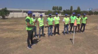 Erzincan Belediyesi, kurban bayramının yaklaşması münasebetiyle kaçan kurbanlıkların yakalanması iç