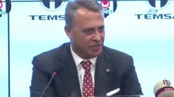 Be�ikta� Kul�b� Ba�kan� Fikret Orman, cumartesi g�n� oynanacak Galatasaray derbisine ili�kin, '�neml