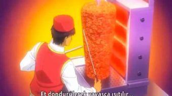 Shokugeki no Souma adl� Japon animesinde 'D�ner' sahnesi sosyal medyada g�ndeme oturdu.