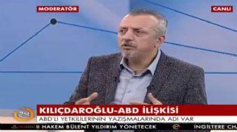 AKŞAM Gazetesi Genel Yayın Yönetmeni Murat Kelkitlioğlu 24'te yaptığı açıklamada, 'Hiç gündemde yokk