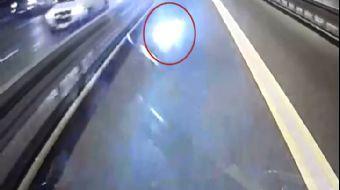 Metrobüsle Kafa Kafaya Çarpışan Motosikletli Hayatını Kaybetti