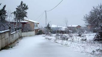 İstanbul'da Kar Kapıya Dayandı! Silivri'de Kar Yağışı Başladı