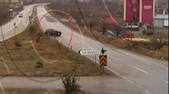 Kırıkkale'deki Trafik Kazaları KGYS Kameralarında