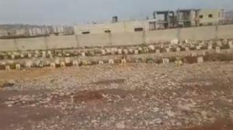 Afrin´de terör örgütü PKK/YPG´nin mezarlığı bulundu