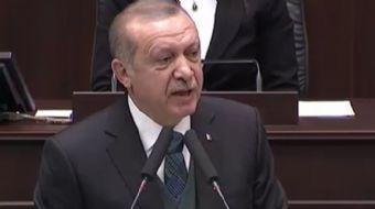 AK Parti Grup Toplantısı´nda konuşma yapan Cumhurbaşkanı Erdoğan önemli açıklamalarda bulundu