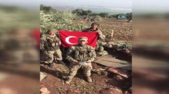 Zeytin Dalı Harekatı´nda görev yapan askerler, Çekmeköy´de bulunan özel bir kolejde okuyan öğrencile