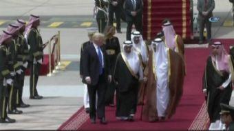 BD Başkanı Donald Trump, ilk yurtdışı ziyaretini Suudi Arabistan'a gerçekleştirdi.