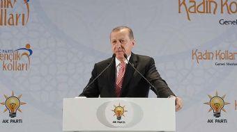 Cumhurbaşkanı Recep Tayyip Erdoğan, AK Parti Kadın ve Gençlik Kolları vefa iftarında konuşma yaptı.
