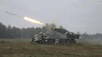 Savunma Bakanlığı, Rusya, Zapad 2017 askeri tatbikatı kapsamında İskender-M balistik füzelerinin den