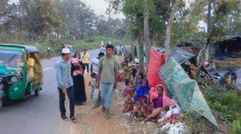 Arakan'da yaşanan zulümden kaçıp Bangladeş'e sığınan Rohingya Müslümanların yaşadıkları kamplar görü