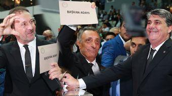 Beşiktaş'ta Başkan Adayları Oylarını Kullandı