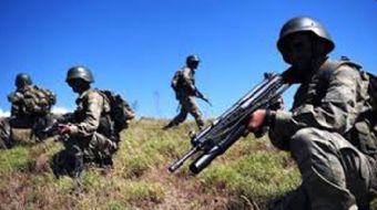 Hatay'ın Amanos Dağları Hassa kırsalında güvenlik güçleri ile bir grup PKK'lı terörist arasında çıka