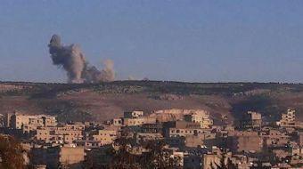 Türk Silahlı Kuvvetleri, PKKKCKPYD-YPG terör örgütü tarafından Afrin´de Mühimmat Deposu olarak kulla