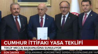 AK Parti ile MHP arasında yürütülen seçim ittifakı görüşmeleri tamamlandı. Cumhurbaşkanı Erdoğan, it