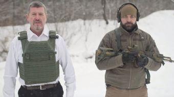 Ukrayna merkezli Ukrainian Armor şirketinin CEO´su Vyacheslav Nalyvaiko, geliştirdikleri yeni çelik