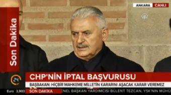 Ankara'da basın mensuplarıyla buluşan Başbakan Binali Yıldırım referanduma ilişkin açıklamalarda bul