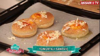 Yumurtalı Sandviç Tarifi | #MutluKahvaltılar