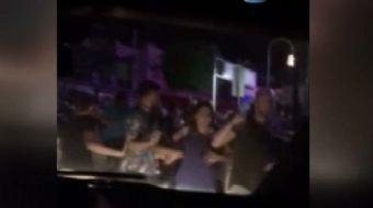 Bodrum'da gece saat 01.31 sıralarında meydana gelen deprem sonrası vatandaşların o panik anlarına ai