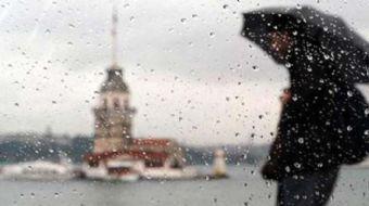 İstanbul'da başlayan yağış etkili olmaya başladı. Yağmurun gün içinde devam etmesi bekleniyor.