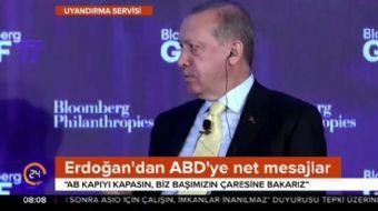 Cumhurbaşkanı Recep Tayyip Erdoğan ABD'de net konuştu: Batı'da adalet aramayın!