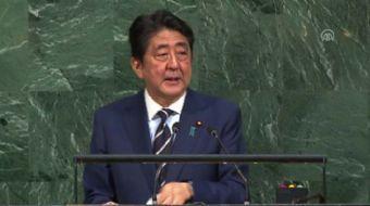 Japonya Başbakanı Shinzo Abe, Kuzey Kore'nin, 'uluslararası yaptırımların artırılmasını' gerektirece