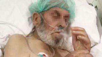 Sakarya'da bulunan özel bir hastanenin yoğun bakım ünitesinde çekilen skandal görüntüler tepkilere