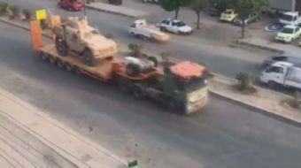 ABD'nin PKK'nın Suriye kolu olan YPG'ye 120 tırlık ağır silah yardımı ve zırhlı araç sevkiyatı yaptı