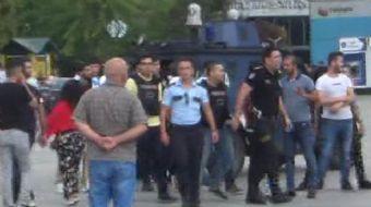 İstanbul Adalet Sarayı önünde çıkan silahlı çatışmada Kemal G.'yi silahla yaralayan şahıs polis tara