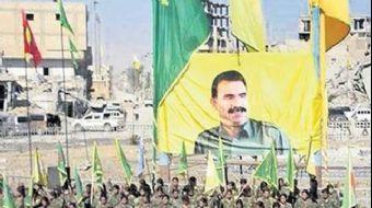 ABD'den Rakka'daki Öcalan posteri açıklaması!