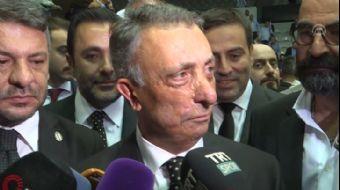 Beşiktaş'ın yeni başkanı Çebi gazetecilerin sorularını yanıtladı