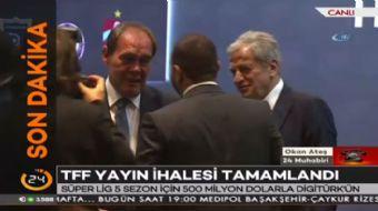 Dijitürk, Spor Toto Süper Lig'in yayın ihalesini yıllık 500 milyon dolar artı KDV ile yeniden kazand