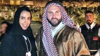 İsrailli blog yazarı Ben Tzion'un Suudi Arabistan'ın Medine kentinde bulunan Mescid-i Nebevinin için