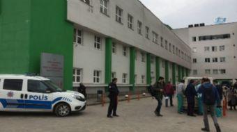Giresun Üniversitesi Prof. Dr. İlhan Özdemir Eğitim ve Araştırma Hastanesi´ne muayene için getirilen